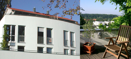 christian eixenberger architekt neubau eines doppelhauses. Black Bedroom Furniture Sets. Home Design Ideas
